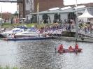 Dömitzer Hafenfest 2009 mit Feuerwerk